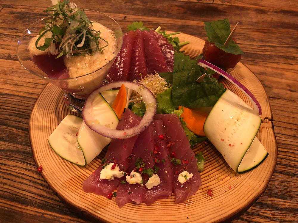 マグロ料理 キハダ料理 メバチ料理 調理 FTI JAPAN