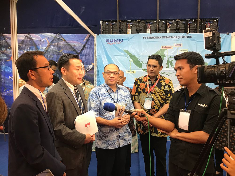 Perikanan Nusantara FTI JAPANマグロ輸出契約締結