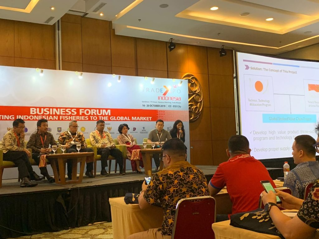 Trade Expo Indonesia held in Indonesia